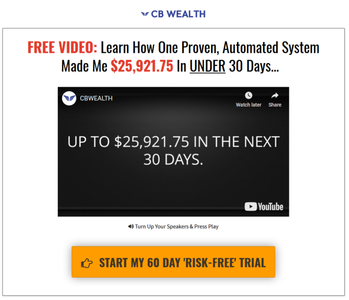 Is CB Wealth A Scam?
