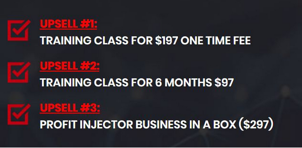 Profit Injector Price Structure