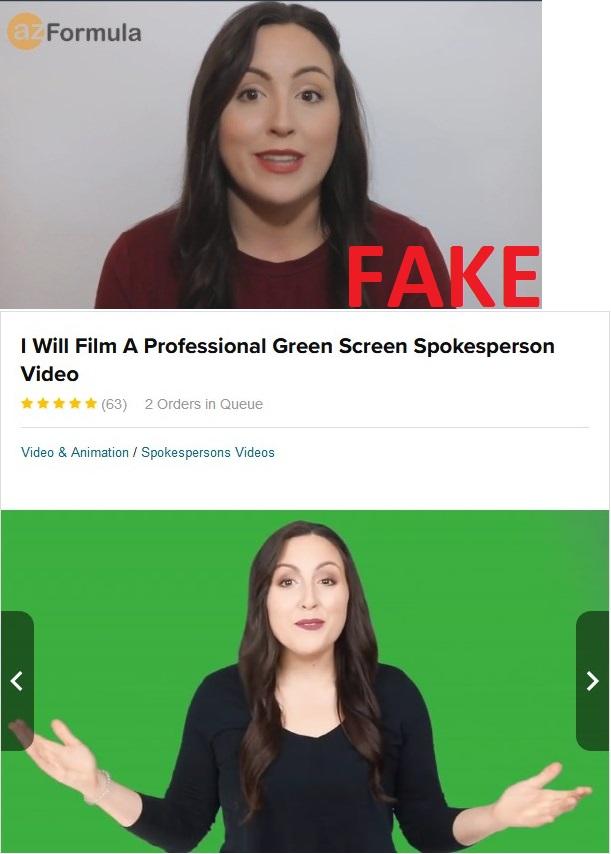 Az Formula Fake Testimonial