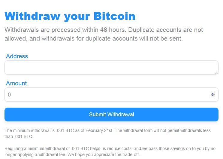 BTCsurveys Cashout