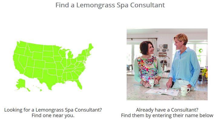 Lemongrass Spa Consultant Finder