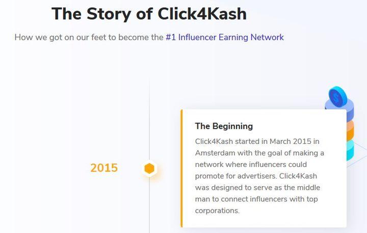 Click4Kash Past