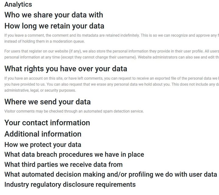 PaidLeaf Unfinished Privacy Policy