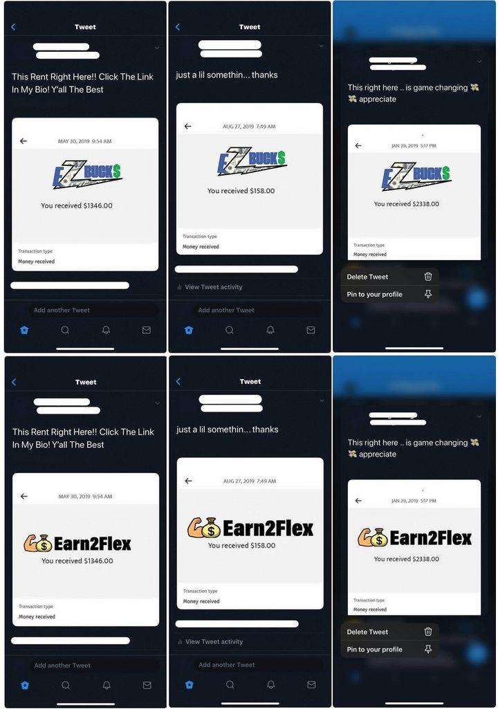EZ Bucks And Earn2Flex Payment Proofs