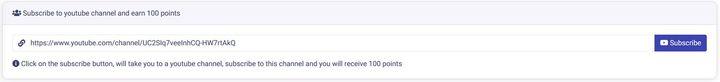 Prizat Earn 100 Points